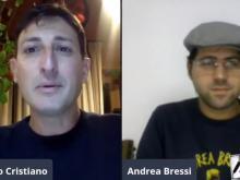 Andrea Bressi intervistato da Riccardo Cristiano -  Un cantastorie in periodo di lockdown !