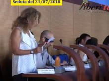 Anna Rita Lazazzera - M5S - Seduta del Consiglio Municipale Roma VII del 31/07/2018.