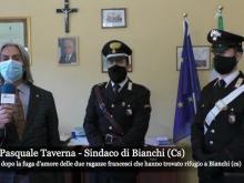 Fuga d'amore di due ragazze francesi a Bianchi - Intervista al Sindaco Pasquale Taverna