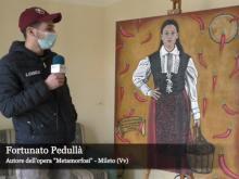 """Fortunato Pedullà racconta lo spopolamento dei piccoli paesi attraverso la sua opera """"Metamorfosi"""""""