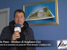 Raffaele Pane, Sindaco di Scigliano  - Ritrovamento manufatto