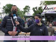 Giro E 2021 - Intervista ad Alessandro Ballan