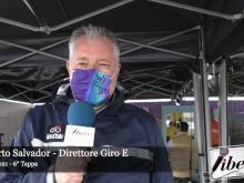 Giro E 2021 - Intervista a Roberto Salvador - Tappa 6