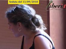 Francesca Biondo (PD) - Seduta del Consiglio Municipale Roma VII del 13/09/2018