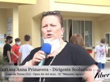 Intervista ad Anna Primavera - Lamezia Terme - Open Air Art 2021