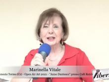 Intervista a Marinella Vitale e Ippolita Luzzo - Lamezia Terme - Open Air Art 2021