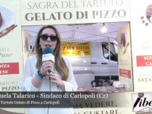Emanuela Talarico, Sindaco di Carlopoli - Sagra del Tartufo Gelato di Pizzo a Carlopoli