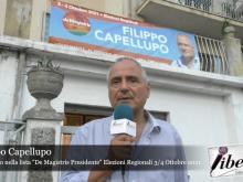 Filippo Capellupo, Lista De Magistris Presidente - Elezioni Regionali Calabria 2021