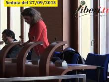 Francesca Biondo (PD) Seduta del Consiglio Municipale Roma VII del 27/09/2019
