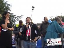 6 Ottobre 2018 - Riace non si arresta - Interviste di strada e comizio