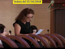 Maura Alabiso (M5S) - Seduta del Consiglio Municipale Roma VII del 25/10/2018