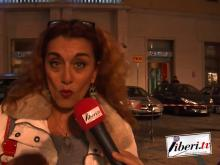 Anna Macrì, attrice - Catanzaro in piazza contro il DDL Pillon - 10 novembre 2018
