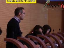 Attilio Giannone (M5S) - Seduta del Consiglio Municipale Roma VII del 22/11/2018