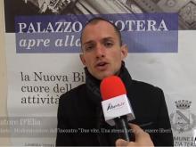 """Intervista a Salvatore D'Elia - Giornalista  e moderatore dell'incontro :""""Due vite. Una stessa lotta per essere liberi""""."""