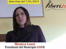 Monica Lozzi, Presidente del Municipio RM VII - Il 2019 del Municipio RM VII in attesa del decentramento