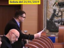 Antonio Principato - M5S. Seduta del Consiglio Municipale Roma VII del 25/01/2019