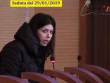 Maria Cristina Ariano (M5S) - Seduta del Consiglio Municipale Roma VII del  29/01/2019