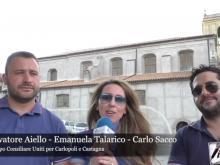 Salvatore Aiello, Emanuela Talarico, Carlo Sacco - Uniti per Carlopoli e Castagna