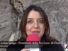 Intervista a Maria Luisa Longo - Cleto in Fiera 2019