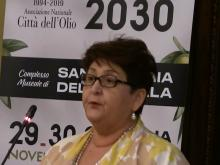 Teresa Mellanova - Conferenza stampa - Siena per tre giorni capitale dell'Olio con il 25° delle Città dell'Olio