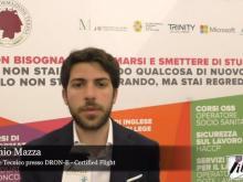 Intervista ad Antonio Mazza - Workshop Terina Droni