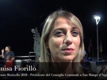 Luisa Fiorillo, Presidente del Consiglio comunale - Premio Muricello 2018, San Mango d'Aquino (Cz).