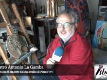 Intervista al Maestro Antonio La Gamba nel suo studio di Pizzo (Vv)