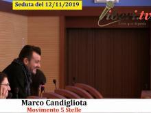 Marco Candigliota (M5S) - Seduta del Consiglio Municipale Roma VII del 12/11/2019