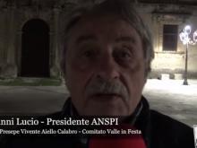 Intervista a Camillo Ianni Lucio   Presidente ANSPI - Presepe Vivente Aiello Calabro 2019