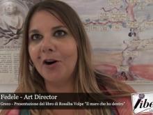 """Intervista a Laura Fedele - Presentazione de """"Il mare che ho dentro"""" di Rosalba Volpe"""