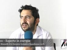 "Intervista a Carlo Sacco - Incontro informativo ""Superbonus 110%"""
