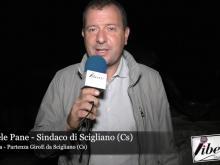 Intervista al Sindaco Raffaele Pane - Partenza GiroE da Scigliano