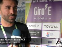 Intervista a Moreno Moser - Giro E  2020