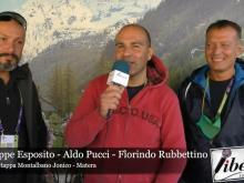 Giuseppe Esposito, Aldo Pucci e Florindo Rubbettino. GiroE 2020, 5°Tappa: Montalbano Jonico -Matera