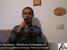 Giuseppe Girolamo - Giro d'Italia 2020 - 17° Tappa: Bassano del Grappa - Madonna di Campiglio