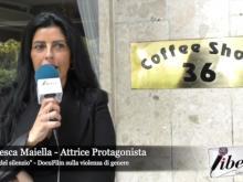"""Francesca Maiella, protagonista del Docufilm """"Il Muro del Silenzio"""" sulla violenza di genere"""