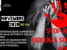 Stop alla violenza sulle donne - Bianchi (Cs) -  25 novembre 2020