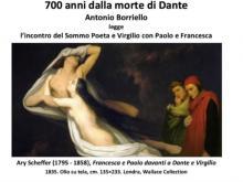 Dante Day - Antonio Borriello legge l'incontro del Sommo Poeta e Virgilio con Paolo e Francesca