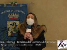 Emanuela Talarico, Sindaco di Carlopoli - Per ogni bambino nato un bambino salvato (UNICEF)