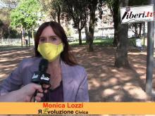 Monica Lozzi, candidata Sindaca di Roma per ЯEvoluzione Civica - #Campidoglio 2021