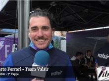 Giro E 2021 - Intervista a Roberto Ferrari - Tappa 7