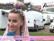 Giro d'Italia 2021 - Intervista a Marta Giuliano - Tappa 14