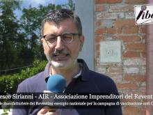 Intervista a Francesco Sirianni - Campagna di vaccinazione anti Covid promossa da AIR