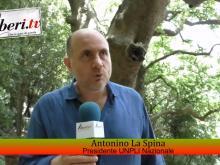 Antonino La Spina - UNPLI in visita al Platano di Curinga