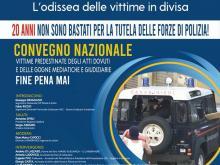 """Convegno """"Dal G8 di Genova a Roma - L'odissea delle vittime in divisa"""""""