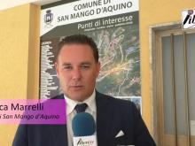 Luca Marrelli, Sindaco di San Mango d'Aquino - Viale Pantani a San Mango d'Aquino