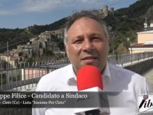 """Giuseppe Filice, candidato Sindaco a Cleto (Cs) nella lista """"Insieme per Cleto"""""""