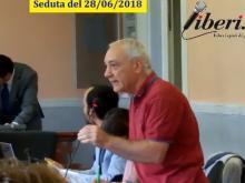 Alessandro Nasetti - Seduta del Consiglio municipale RM X del 28/06/2018