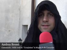 La morte di Re Carnevale Intervista di Riccardo Cristiano ad Andrea Bressi, cantastorie
