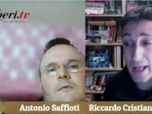 """Antonio Saffioti e  Riccardo Cristiano. Chi ci capisce (a noi due) è bravo! """"La Pasqua in tutte le sue sfaccettature!"""""""